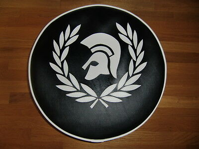 Skinhead Trojan wreath Scooter Wheel Cover