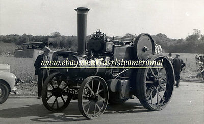 Aveling & Porter 7898 Steam Tractor, Steam Traction Engine Photograph