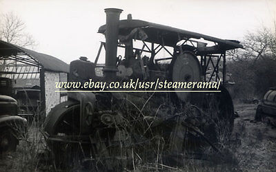Aveling & Porter 11520 Road Roller, Steam Traction Engine Photograph