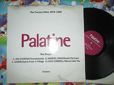 "Palatine Various Artists The Single Factory Records ‎Fac304  UK Vinyl 12"" Single"