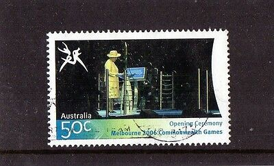 2006 Commonwealth Games 50c Opening Ceremony (4) Stamp Fine Used