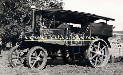 Robey 43165 Steam Tractor, Steam Traction Engine Photograph