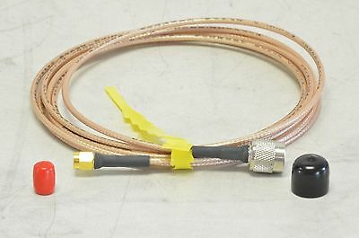 Florida RF Labs SMA Male to TNC Male Cable 8 Ft Long SMS-RD316-96.0-TMS