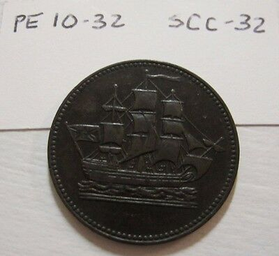 Canada Token - Ships Colonies & Commerce - PE 10-32/SCC-32