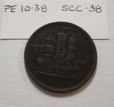 Canada Token - Ships Colonies & Commerce - PE 10-38/SCC-38
