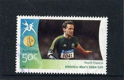 2006 Commonwealth Games 50c Equality Stamp Fine Used
