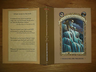 Lemony Snicket A Series Of Unfortunate Events Rare Us Slippery Slope Dustjacket