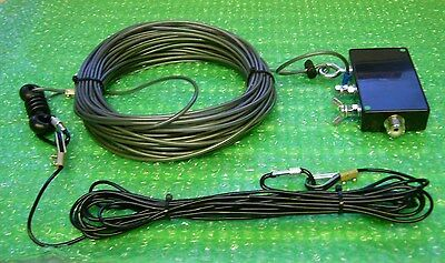 6m - 160m LongWire Antenna With  Magnetic Impedance Transformer (UnUn).