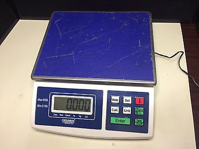 Global Industries Counting Scale .5 To 60lb.