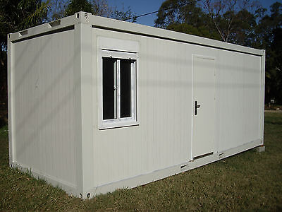 Portable Building Granny Flat Donga Site Office Shipping Container little house