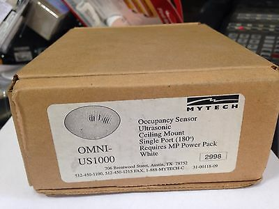 Mytech OMNI US1000 OCCUPANCY SENSOR ULTRASONIC CEILING MOUNT NEW!!