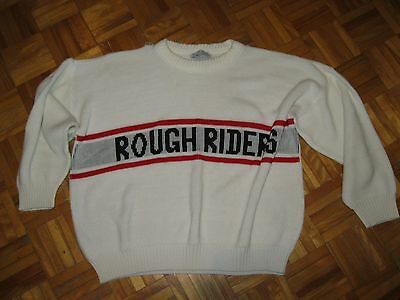 Vintage 1980's Ottawa Rough Riders Sweater