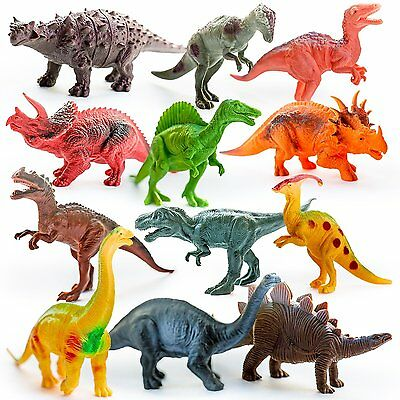 Kids Imaginative Dinosaur Toy Figures & Learning Resources for Toddlers, Boys &