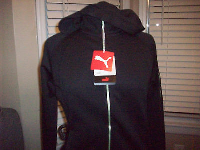 Womens Puma golf warm cell PWR warm full zip scuba hoodie Sz S NEW WITH TAGS