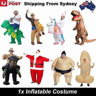 Inflatable Suit Fancy Costume Dinosaur Sumo Unicorn Gorilla Horse Dress Party