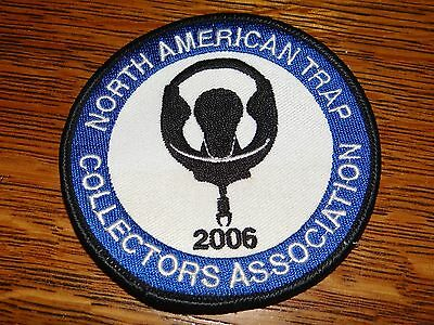 Vintage 2006 North American Trap Trappers Association Sew-On Cloth Patch