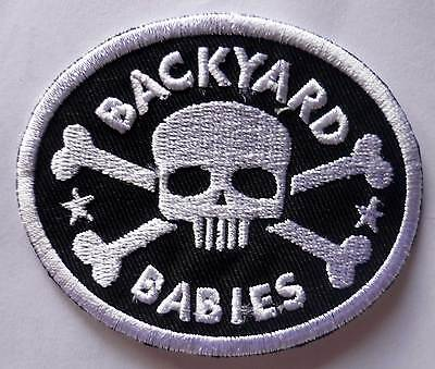 BACKYARD BABIES embroidred patch Hardcore Superstar The Hellacopters Gluecifer