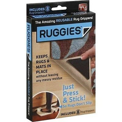 Ruggies Rug Grippers - 8 CT, New