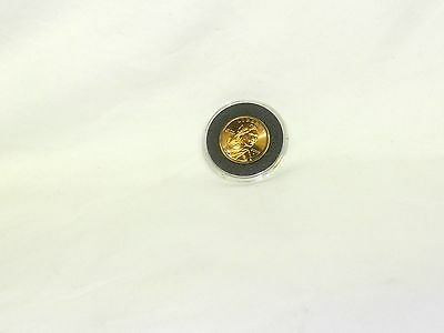 Sacagawea Proof One Dollar Coin Gold Color Year 2000