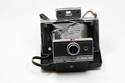 Vintage Polaroid Land Camera Automatic 100 with Case UNTESTED