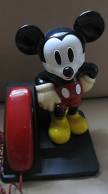 Vintage Mickey Mouse push button telephone