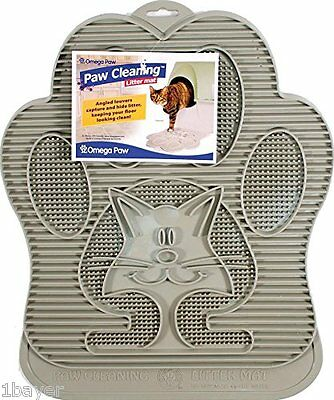 Omega Paw Paw Pet Supply Cat Kitty Kitten Cleaning Litter Entracne Cover Pad Mat