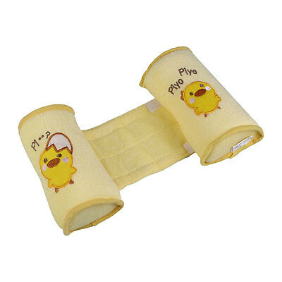 Baby Safe Cotton Sleep Head Positioner Infant Anti Roll Support Pillow