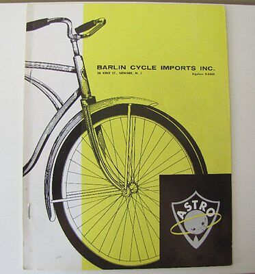 1963 Murray Factory Catalog Dealer Price Sheet Pedal Car Tricycle Bicycle