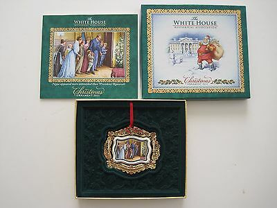 2011 White House Historical Assoc. Christmas Ornament Booklet Theodore Roosevelt