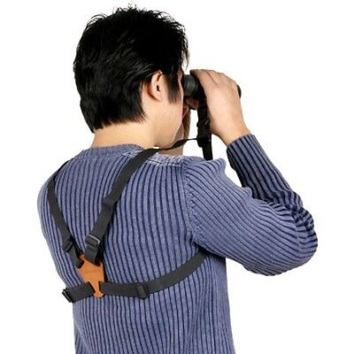 Matin Replacement Adjustable BINOCULAR HARNESS Strap Camera Canon Nikon Leica i