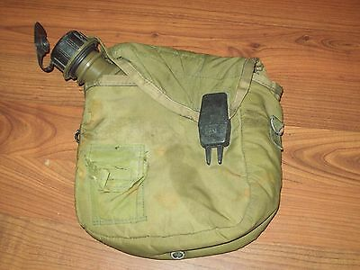 US Army Collapsible 2 Quart Canteen dated 1968 w/ Bladder Nylon Rare vietnam nam