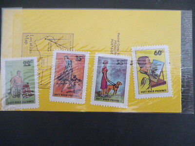 hutt river 1981 International year of the Disabled mnh set