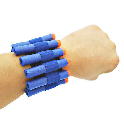 Wristband storage soft bullet For Nerf Toy player game Outdoor Equipment