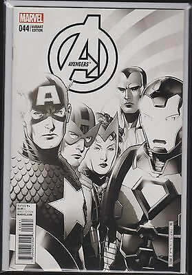 Marvel Avengers #44 Cheung Final Issue Exchange Inked Variant