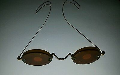 Civil War Era Sharpshooters Glasses Tinted Spectacles Long Rifle antique