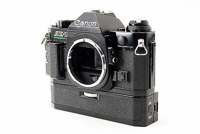 Canon AE-1 PROGRAM Winder SET [Excllent++] From Tokyo Japan Free Shipping