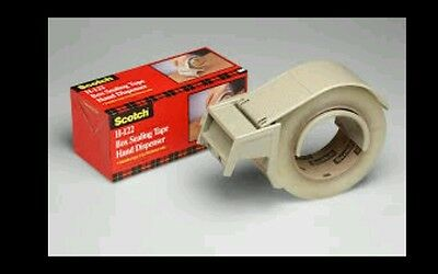 "3M Scotch Box Sealing Tape Dispenser H122, 2 in. Use For 2"" roll of Tape"