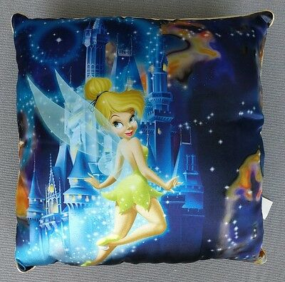 Tinkerbell Throw Pillow -The Happiest Celebration on Earth Walt Disney World-New