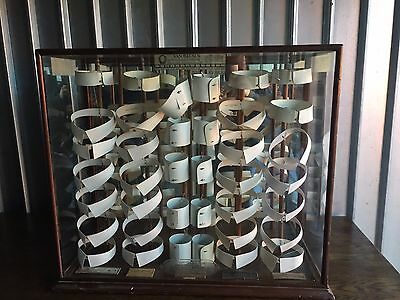 Very Large and Rare Antique Van Heusen Collar Display Case