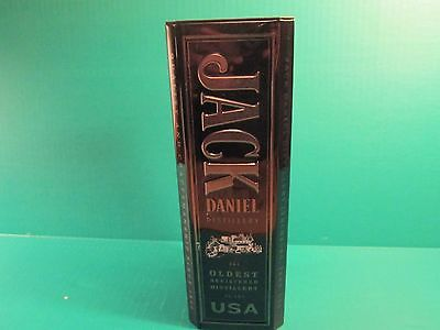 Jack Daniel Distillery Old No. 7 Whiskey Empty Hinged Tin