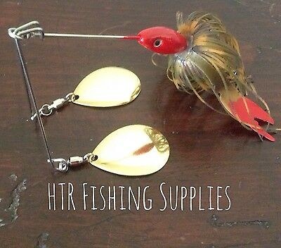 3/4 Ounce Twin Arm Spinnerbait Fishing Lure For Murray Cod