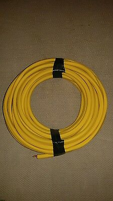 25' 12-3 Romex Wire with ground. indoor use only.