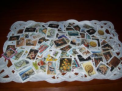 Collection of 500+ World Stamps (Europe, Malta, Australia) & More