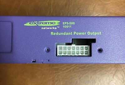 Extreme Networks EPS-500 10911 External AC PSU (K128424) Perfect Condition!!