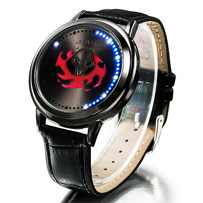 Overwatch Reaper Wrist Watch LED Watch OW Touch Screen Waterproof Watch