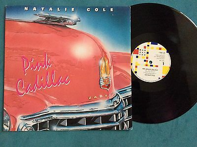 """Natalie Cole - Pink Cadillac / I Wanna Be That Woman  12""""  vinyl record,  ex"""