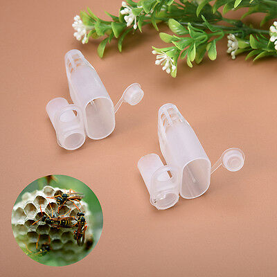 10Pcs Beekeeping Rearing Queen Bee Hair Roller Cages Beekeeping Tool Easy to Use