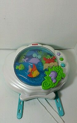 Fisher Price Ocean Wonders Deep Blue Sea Sparkling Crib Soother  Pearlized