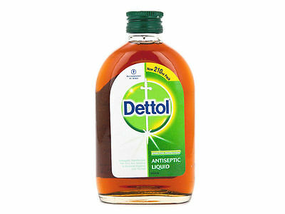 Dettol Antiseptic Liquid Soap First Aid Cleaner 210ml Kill Germs On The Skin