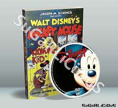 Mickey Mouse Collection over 700 PDF on DVD including Donald Duck and Pluto